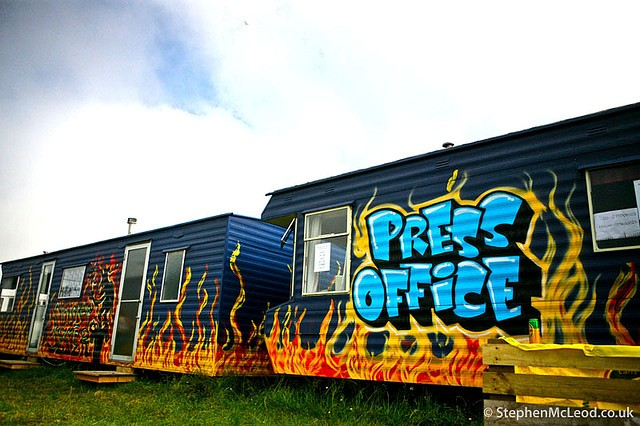 What does a digital press office look like?