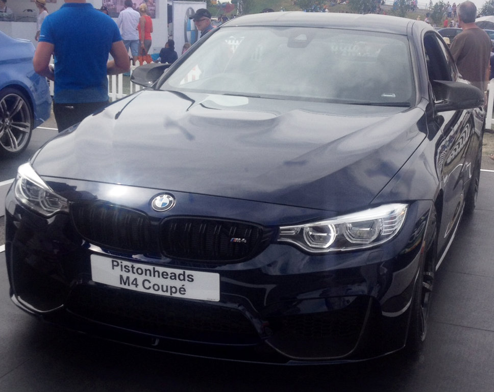 BMW M4 at Silverstone Classic